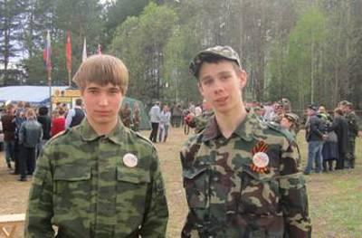 Алексей Золин и Данила Кашин.