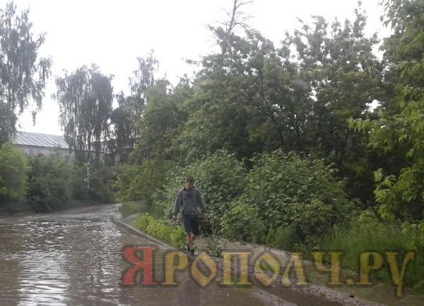 дождь_дорога_вязники_калинина