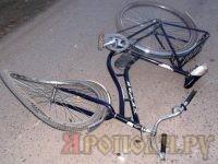Легковушка насмерть сбила велосипедиста