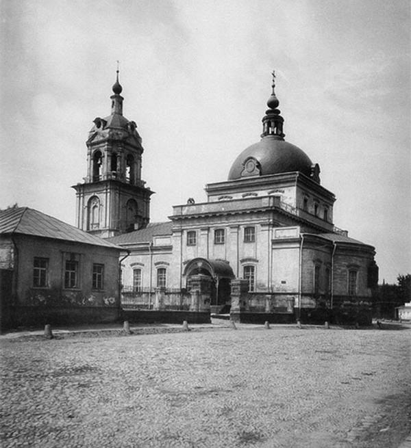 Церковь Космы и Дамиана в Гончарной слободе, Москва,1881г, Иван Бороздин