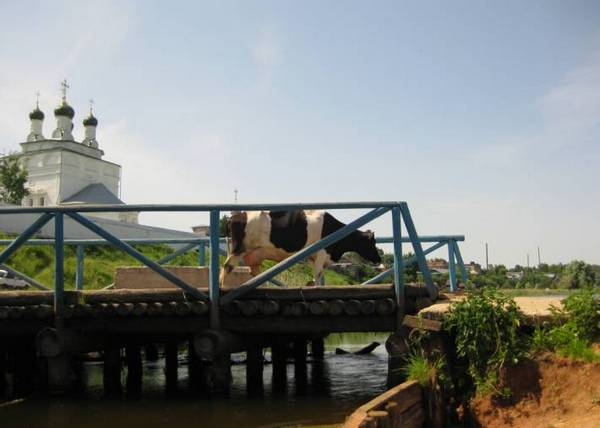 мост, Мстёра, Мстёрка, река