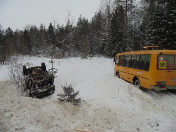 ДТП,ДТП Ковровский район,М-7,автобус,