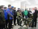 «Русичей» встречали оружейники
