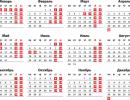 Полный календарь выходных и рабочих дней в России на 2018 год
