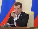 Неожиданно? Медведева могут отправить в отставку