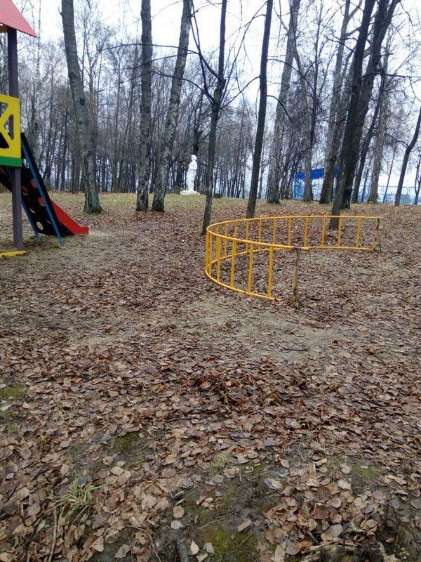 детская площадка,летний парк,Вязники,улица Герцена,Вязники,