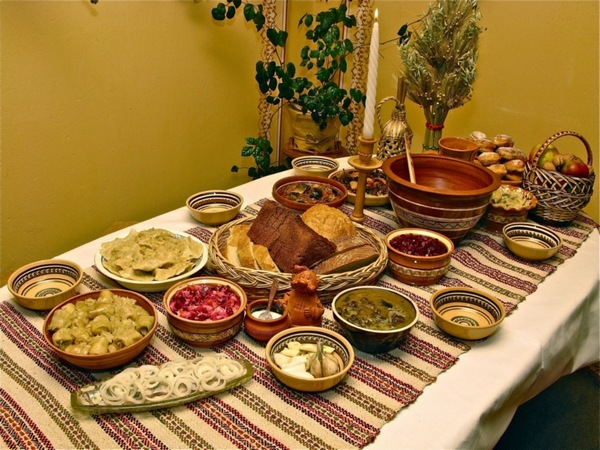 Рождественский постный стол,Рождественский пост, Филиппов пост, рецепты,постные блюда,