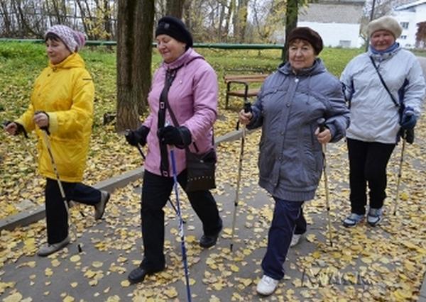 пенсионеры,Вязники,