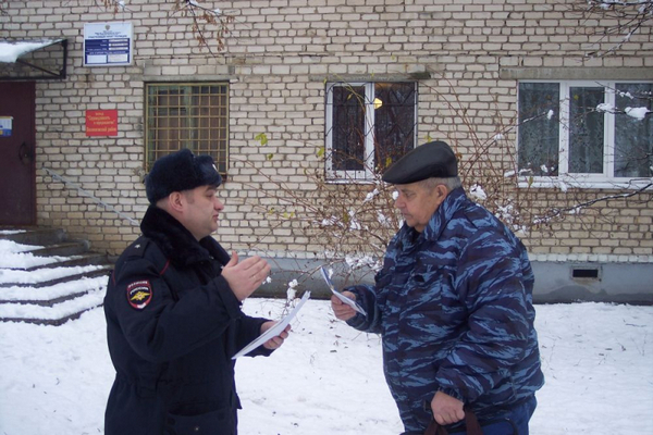 Вязники,участковый уполномоченный полиции,Сергей Юрищев,