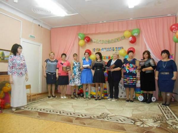 Галицы,Гороховецкий район,2017 год,юбилей детского сада,65 лет,