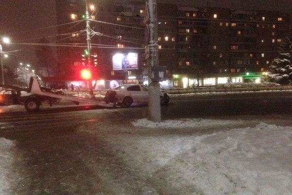 авария Владимир,Суздальский проспект,12 декабря 2017 года,