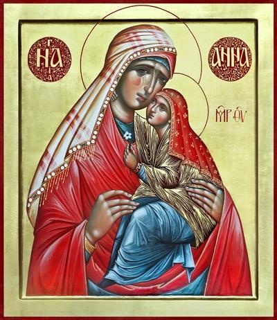 святая Анна,мать Богородицы,