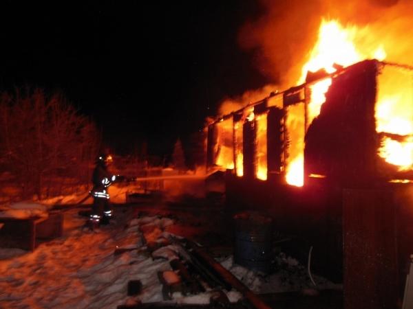 На пожаре погиб 4-летний ребёнок