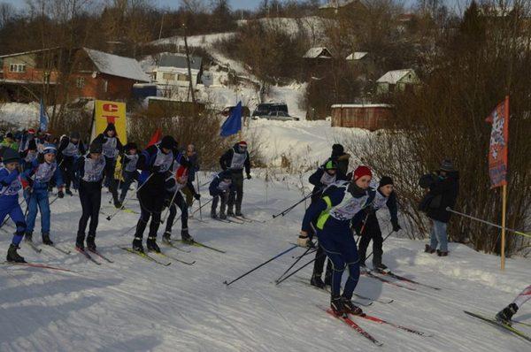лыжня России 2018,Вязники,