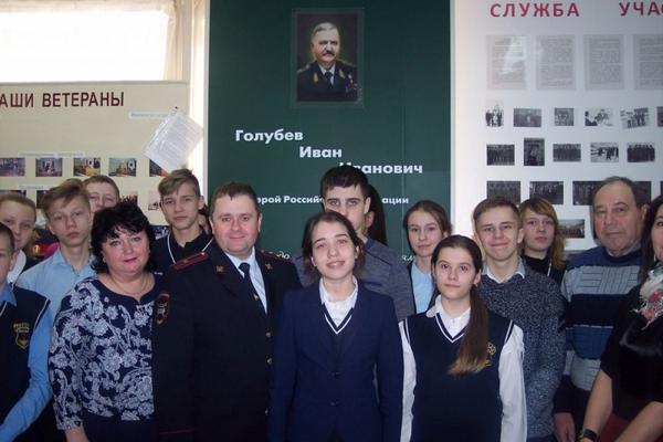 """Полицейские из города Героев присоединились к акции """"Неделя мужества"""""""