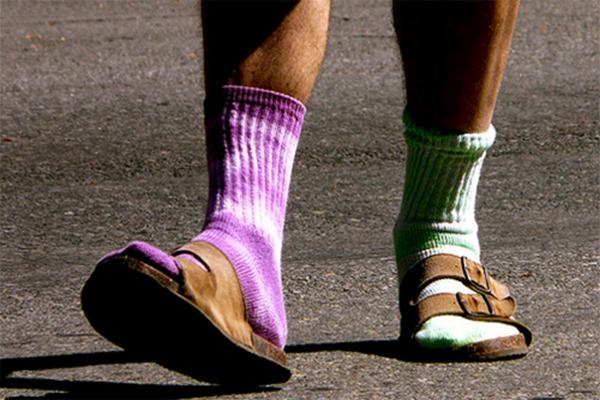 Наблюдения психологов: как определить характер мужчины по его носкам