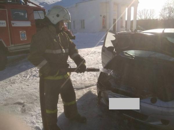 В регионе сгорели пять автомобилей