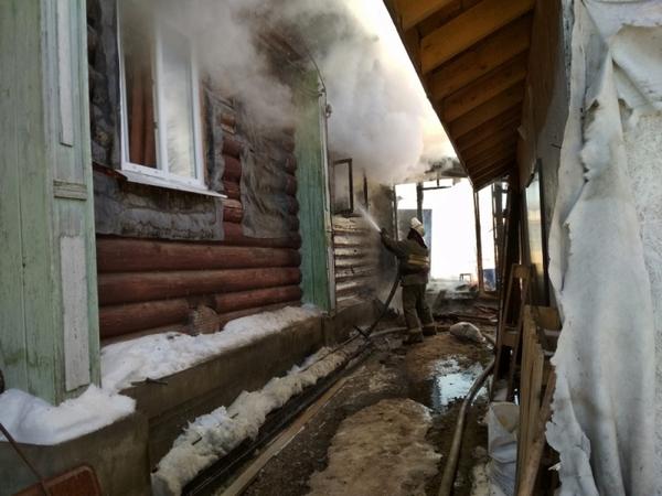 пожар,Лукново,Вязниковский район,Владимирская область,пожар,горел дом,улица Советская,