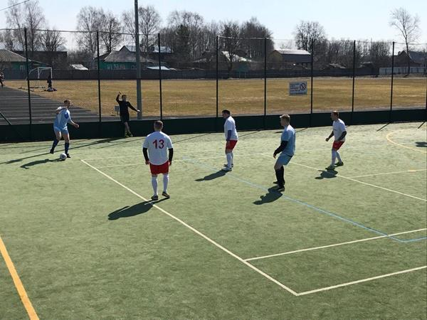 Мини-футбол среди ветеранов