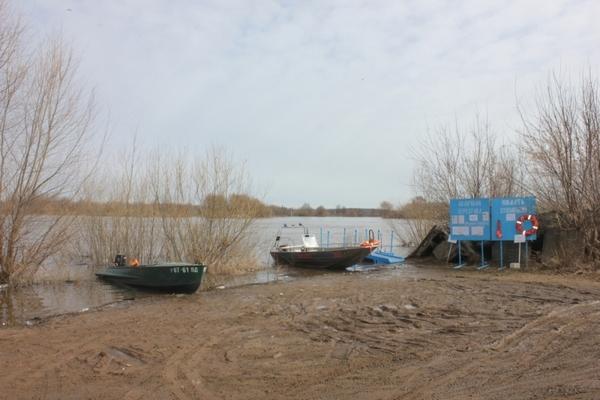 Журналисты посетили Заречье, где 17 населенных пунктов оказались отрезанными половодьем