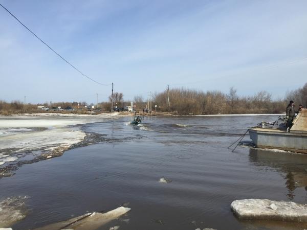 Мост через Клязьму развели