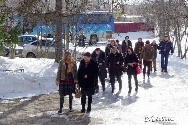 Гости из Судогды в городе Героев