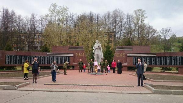 Свеча памяти в Гороховце