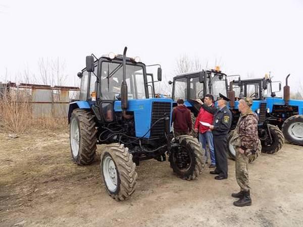 gorohovec traktora