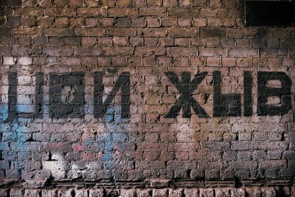 надпись на стене,Цой жив,