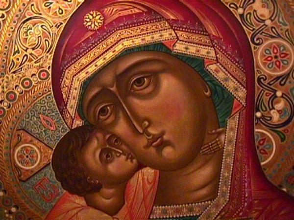 владимирская икона Божией Матери,