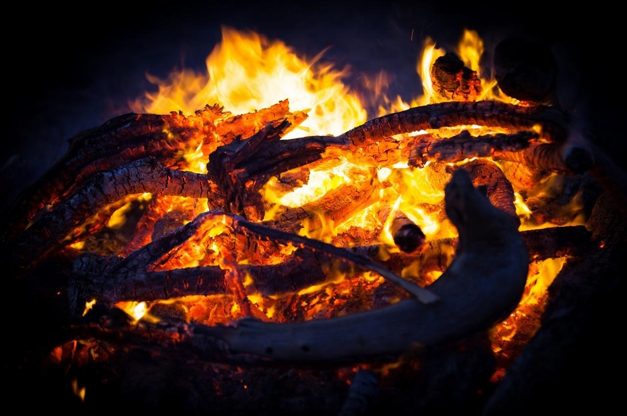 В Гороховецком районе сгорела деревенская баня