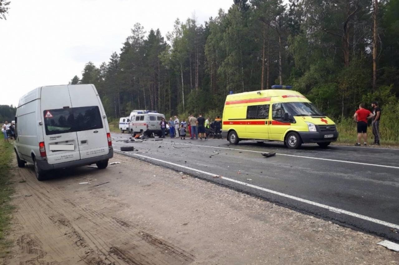 Смертельное ДТП с участием пассажирского автобуса