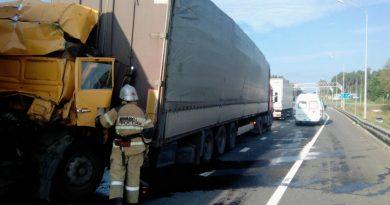 авария,Вязниковский район,трасса М-7,21 августа 2018 года,Симонцево,