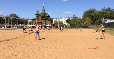 Открытый турнир по пляжному волейболу