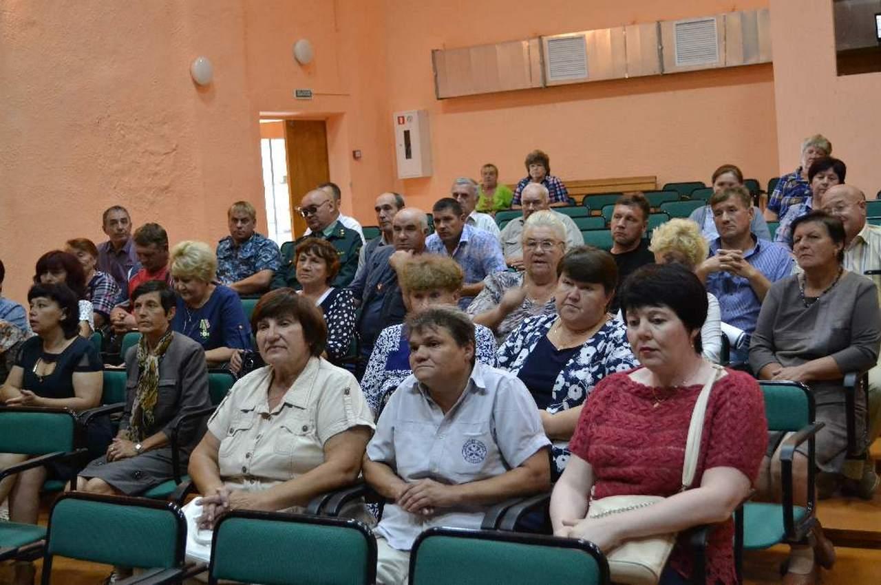 Сельские старосты встретились в Фоминках