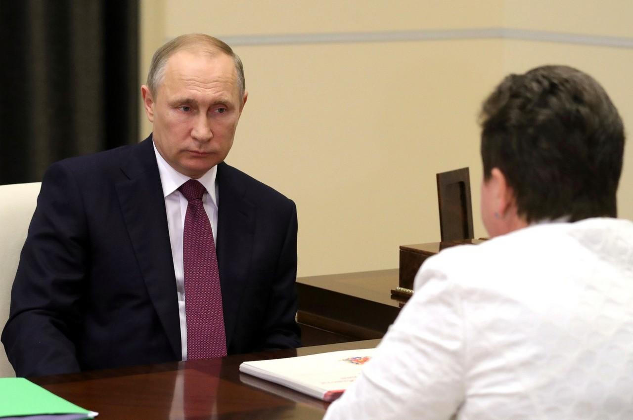Сегодня Путин примет у себя Орлову