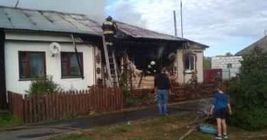 пожар,Гороховец,Владимирская область,сгорел дом,улица Гагарина,