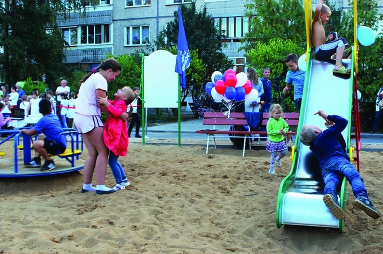 Детская площадка – праздник для жильцов