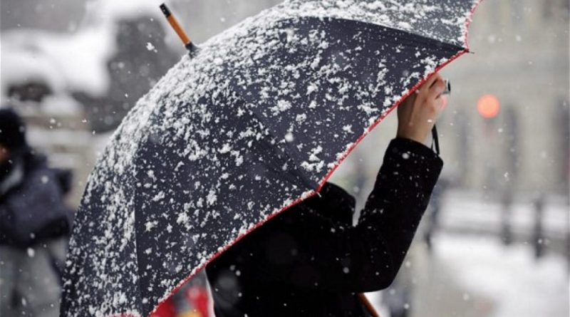 дождь со снегом,