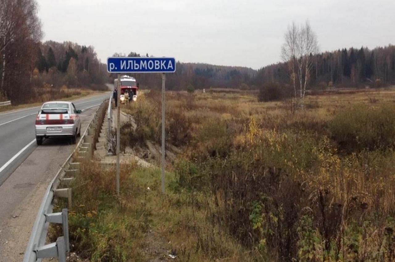 Во Владимирской области иномарка с моста слетела в реку