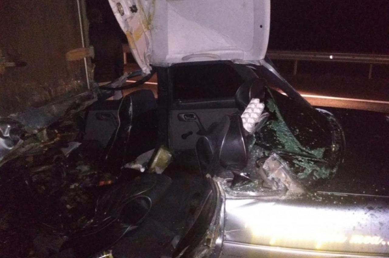 Авария на трассе с участием четырёх автомобилей