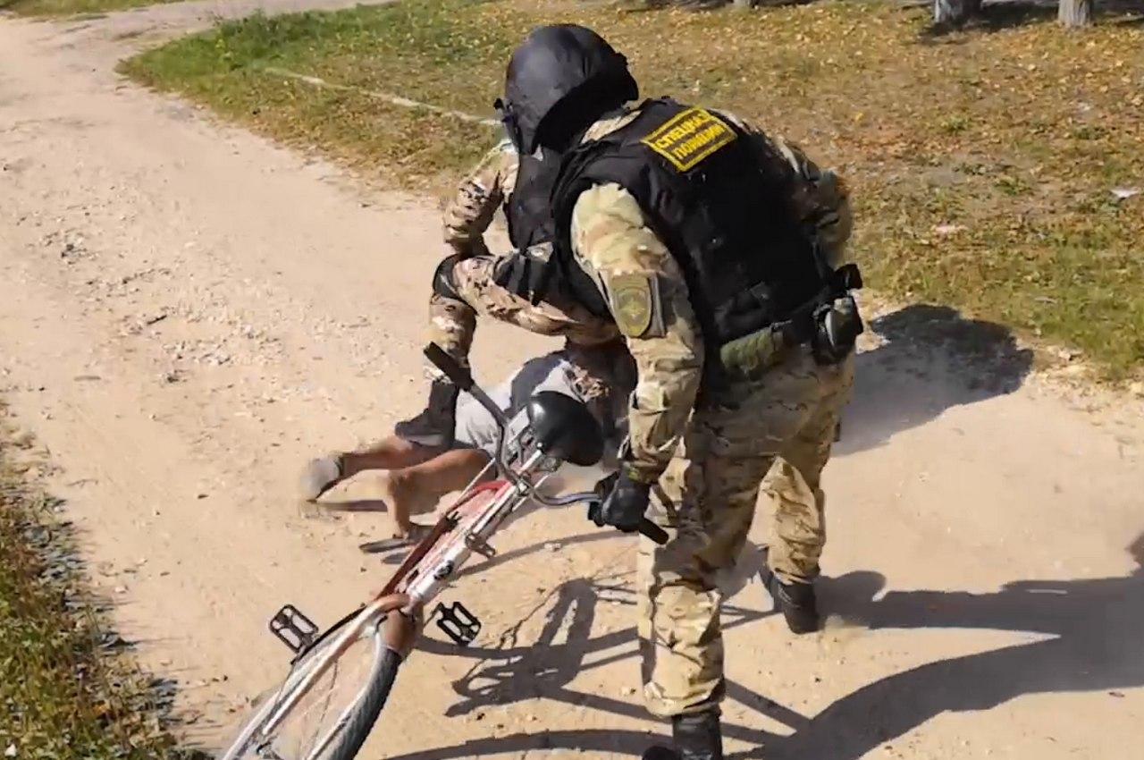Наркобарыг задерживали при помощи спецназа