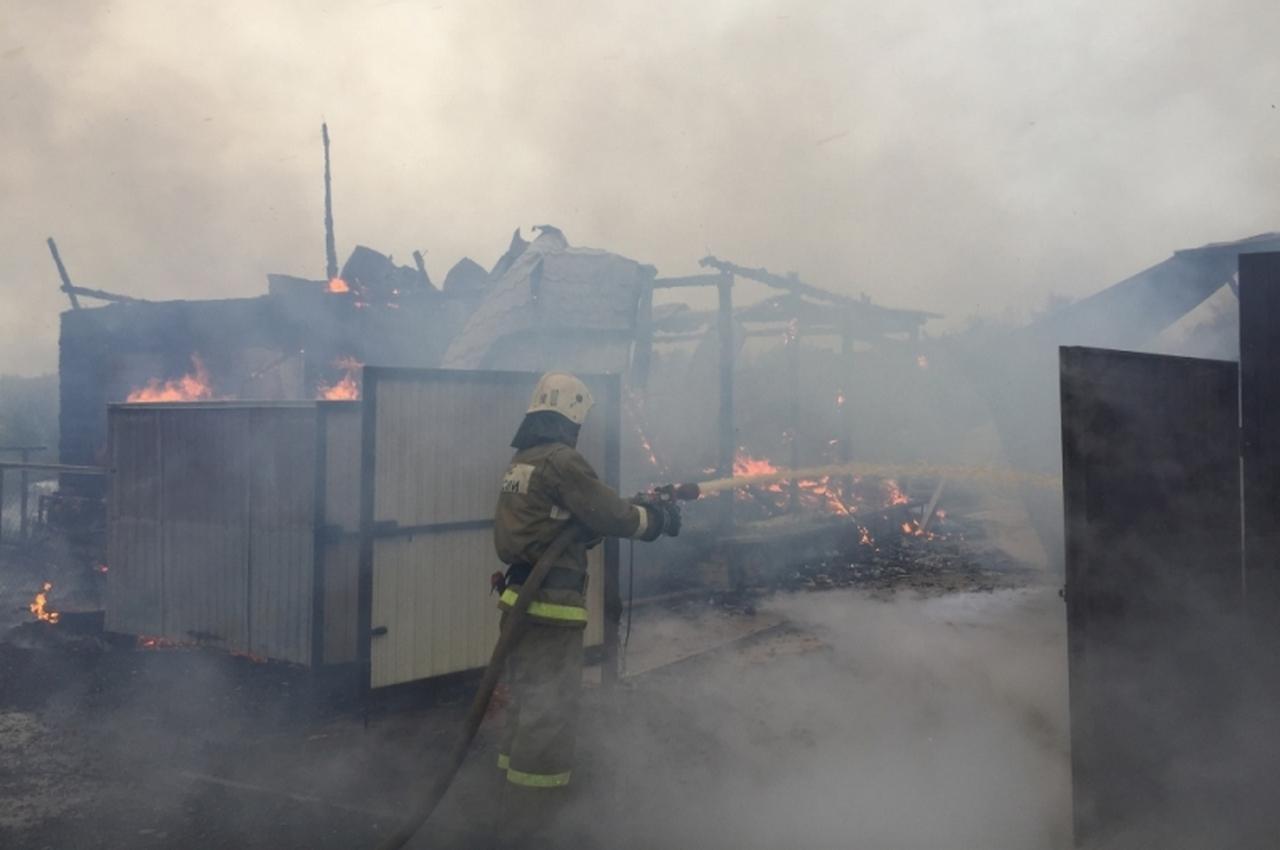Утром в Вязниковском районе сгорел дом