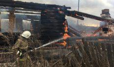 В деревне Вязниковского района сгорел дом