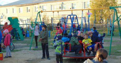 Степанцево,Вязниковский район,открытие детской площадки,