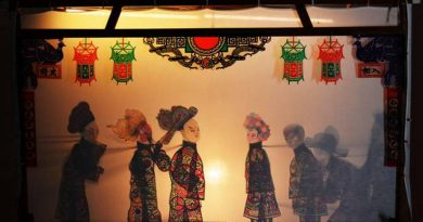 театр теней,Китай,