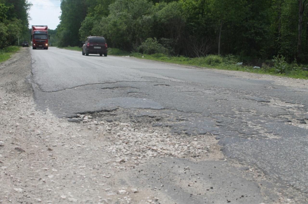 Стал известен список самых «убитых» дорог во Владимирской области