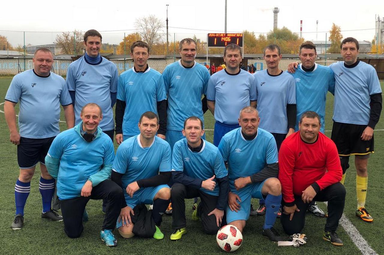 Вязниковские ветераны футбола в числе призёров