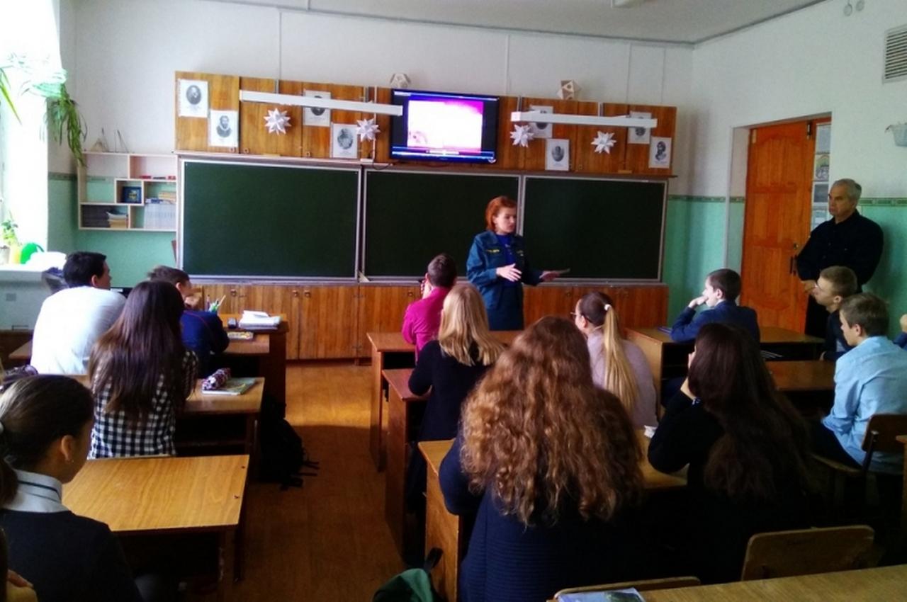 Месячник гражданской обороны: познавательное занятие по тематике ГО проведено в школе №9 города Вязники