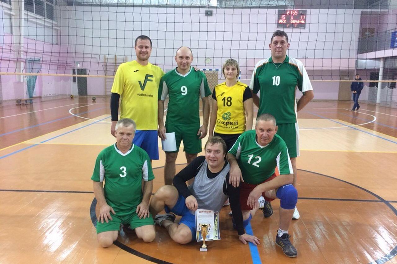 В Вязниках прошли соревнования по волейболу